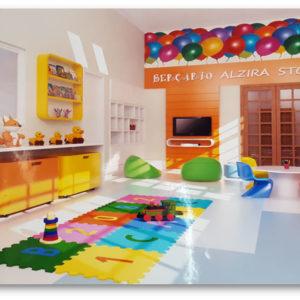 Novo espaço infantil (Janeiro/2019) - Construção de um novo ambiente para o Infantil 1