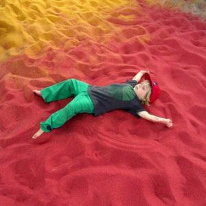 Tanque de areia (imagem ilustrativa)