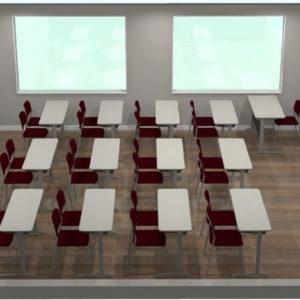 Revitalização de salas de aula e mobiliário (Setembro/2018)