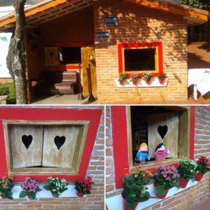 Casinha de boneca - Modernização do mobiliário