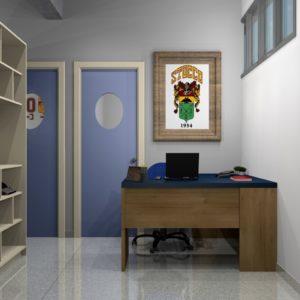 Sala dos Coordenadores Pedagógicos (Agosto/18) - Novo espaço, layout e decoração