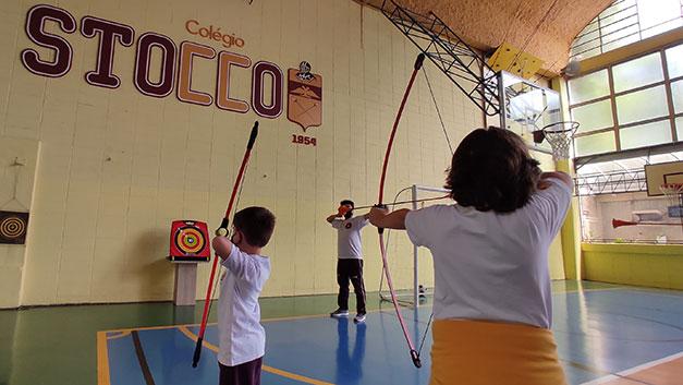Esporte no Stocco - Arco e Flecha