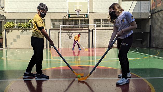 Esporte no Stocco - Floorball