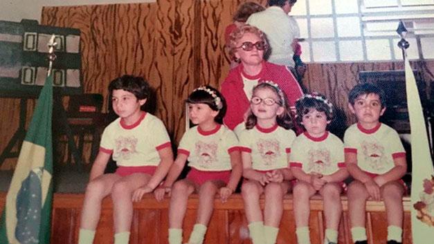 História Colégio Stocco - 1978